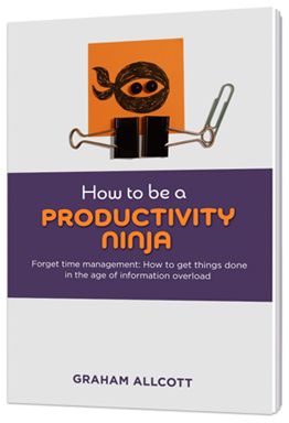 Productivity ninja book cover